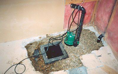 Sump Pump Installation & Repair Edmonton | Abarent Construction