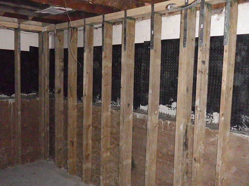 preserved wood foundation pwf basement repairs edmonton