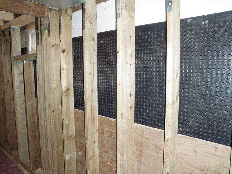 preserved wood foundation pwf basement repairs edmonton